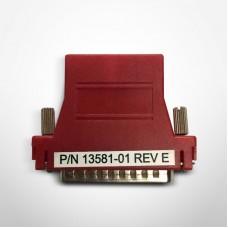 VeriFone Adapter,  DB25M  Null Modem