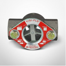 """OPW Visi-Flo® 1400 Series Sight Flow Indicators 1"""" Stainless Steel Unit with Delrim Propeller, Female NPT Threaded Ends"""