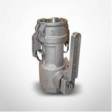 OPW 3'' Kamvalock Coupler, Stainless Steel, Fluorocarbon, DL-FNPT