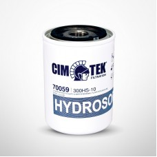Cim-Tek 70059 300HS-10 Spin-On Filter with 10 Micron Hydrosorb® Media