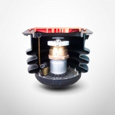Franklin Fueling EBW Grade Level Spill Container, 5 Gallon, Black, Fiber Reinforced Composite, Raintight