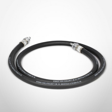 Healy 9' Coaxial Hose with Swivel on Each End