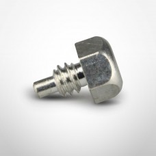Healy Shear Screw Pin for Breakaway in Nickle-Plated Brass