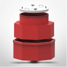 """Bravo 48"""" 2-piece Single Wall, Closed Bottom, Fiberglass Tank Sump **REQUIRES FREIGHT SHIPPING. PLEASE CALL TO ORDER**"""