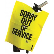 """""""Out of Service"""" Yellow Bags - Box of 12"""