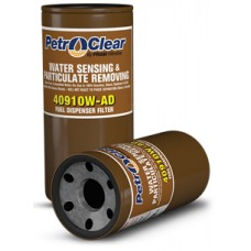 Petroclear 409 WAD Series 1'' 10 Micron Water Sensing and Particulate Removal